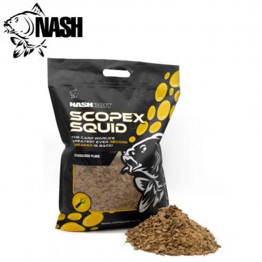 Nash - Scopex Squid Stabilised Boilie Flake 1kg