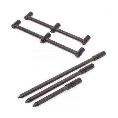 Nash - Scope Black OPS Carbon 3 Rod Wide Buzzbars x2 and Banksticks x2