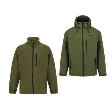 Navitas - Scout 2.0 Green Jacket and Atlas Fleece