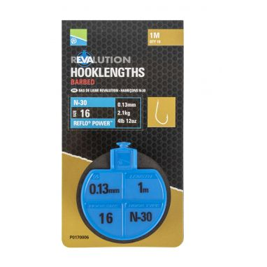 Preston - Revalution Hooklengths N30