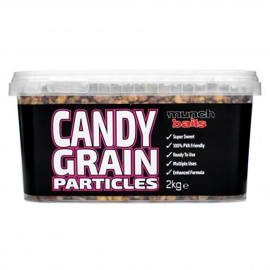 Munch Baits - Candy Grain 2kg Particle Bucket
