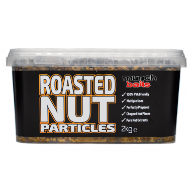 Munch Baits - Roasted Nut 2kg Particle Bucket