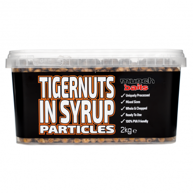 Munch Baits - Tigernuts in Syrup 2kg Particle Bucket