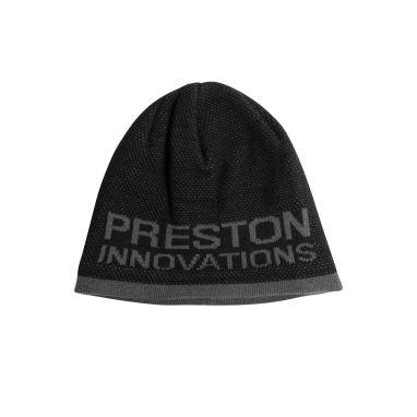 Preston - Black/Grey Beanie Hat