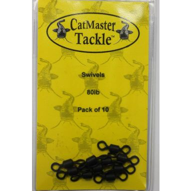 Catmaster Tackle - 80lb Swivels