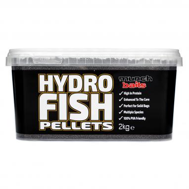 Munch Baits - Hydro Fish Pellets - 2kg Bucket