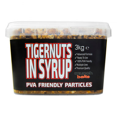 Munch Baits - Tigernuts in Syrup 3kg Particle Bucket