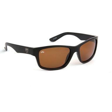 Fox - Rage - Sunglasses Matt Black Frame Brown Lens