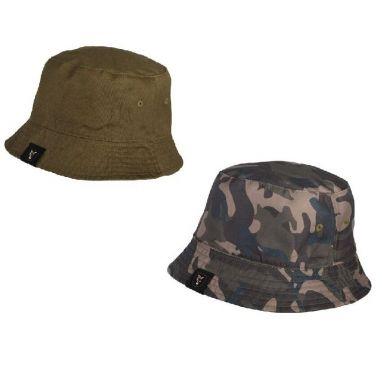 Fox - Khaki/Camo Reverse Bucket Hat