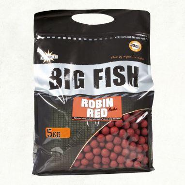 Dynamite Baits - Big Fish - Robin Red Boilies - 5kg 15mm