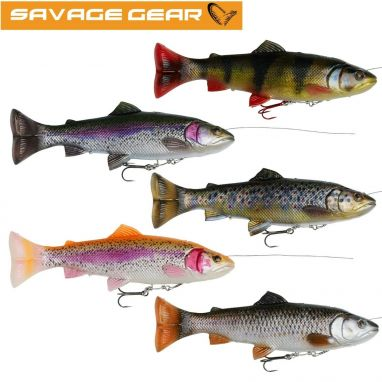 Savage - 4D Line Thru Pulsetail Trout 16cm 51g