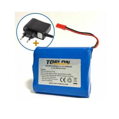 Toslon - Toslon Fishfinder Internal Battery And Charger (Fits TF500, TF640, TF650, TF740)