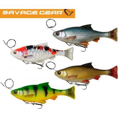 Savage - 4D Line Thru Pulse Tail Roach 18cm 90g