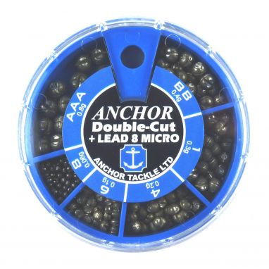 Anchor - 6 Division Double-Cut Round Dispenser - Sml Sizes