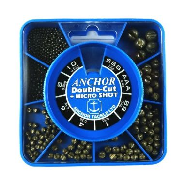 Anchor - 8 Division Double-Cut Square Dispenser - With Micro