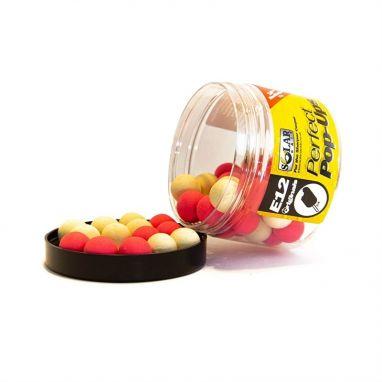 Solar Tackle - Pink And White Squid Pop Ups - 14mm