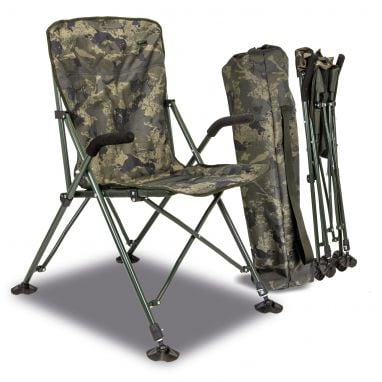 Solar Tackle - Undercover Camo - Foldable Easy Chair