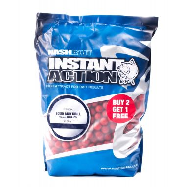 Nash - Instant Action Squid and Krill Boilies