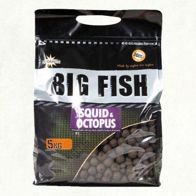 Dynamite Baits - Big Fish - Squid & Octopus Boilies - 5kg 15mm
