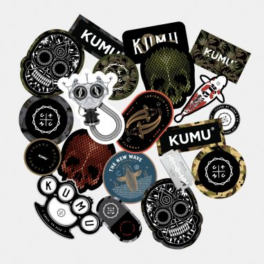 KUMU - Stickerbomb Pack