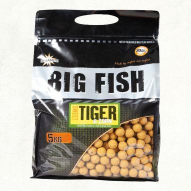 Dynamite Baits - Sweet Tiger & Corn Boilies - 15mm