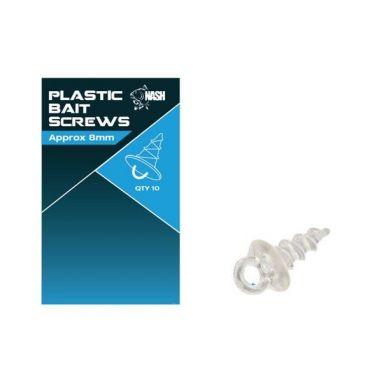 Nash - Threaded Plastic Bait Screws