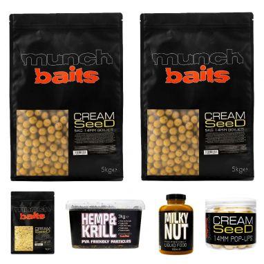 Munch Baits - Cream Seed 14mm Mega Deal #1