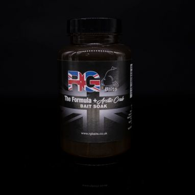 RG Baits - The Formula + Arctic Crab - Bait Soak - 250ml