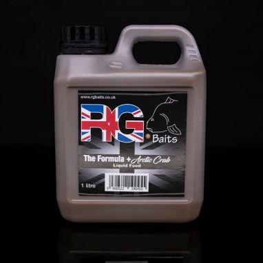 RG Baits - The Formula + Arctic Crab - Liquid food - 1L