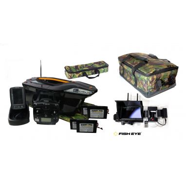 Toslon - X Boat With TF740  And Winch Cam Pro Fully Loaded Package Deal