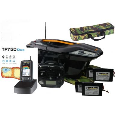 Toslon - X Boat With TF750 Duo GPS Autopilot Fishfinder 3D Mapping Full Package Deal