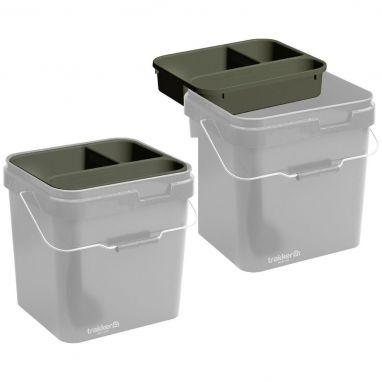 Trakker - Olive 17ltr Bucket + Heavy Duty Cuvette
