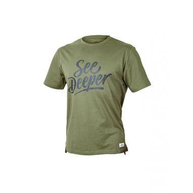 Fortis - See Deeper T Shirt Green