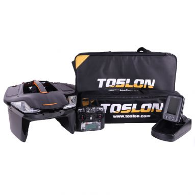 Toslon - X Boat With Toslon TF500 Fish Finder
