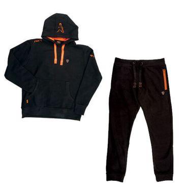 Fox - Black & Orange Hoody & Jogger Combo