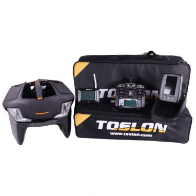 Toslon - X Boat With X Pilot GPS And TF500 Fishfinder