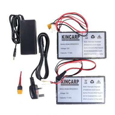 Cult Tackle - Lithium Battery Upgrade Kit For Ranger Bait Boat