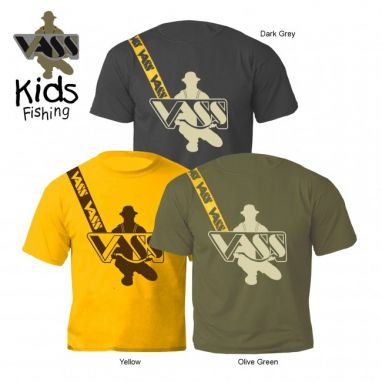 VASS - Junior/Kids T-shirt Inc Shoulder Print