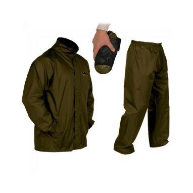 VASS - Khaki Light Packaway Jacket and Trouser Set
