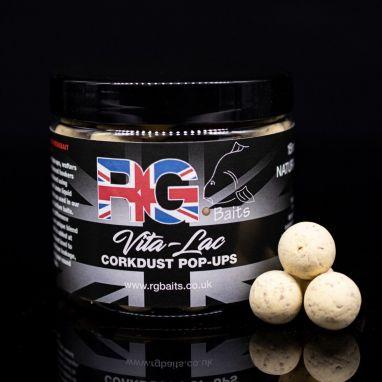 RG Baits - Natural Vita-lac Corkdust Pop-ups