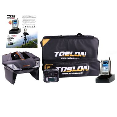 Toslon - X Boat With TF740 GPS Autopilot Fishfinder Mapping