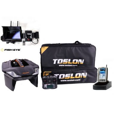 Toslon - X Boat With TF740 GPS Autopilot And Winch Cam Pro